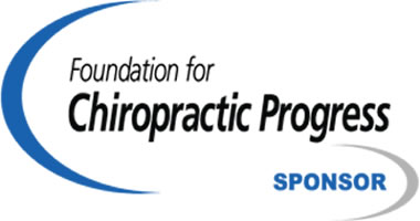 Foundation for Chiropractic Progress Sponsor