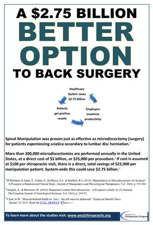 A Better Option to Back Surgery - Chiropractic Care