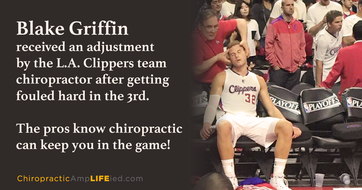 AmpLIFEied - Blake Griffin - Chiropractic Care